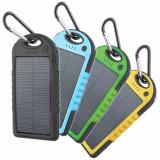 Baterie solara 5000mAh waterproof - Baterie externa