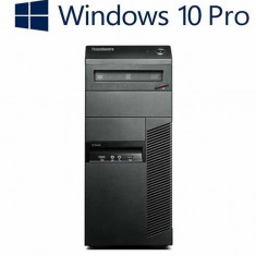 Calculatoare refurbished Lenovo ThinkCentre M92P MT, i7-3770, Win 10 Pro - Sisteme desktop fara monitor Lenovo, Windows 10