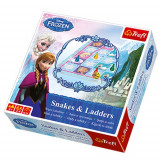 Joc de societate Frozen Snakes and Ladders Serpi si Scari - Joc board game