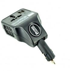 Invertor premium 120W 12V-220V direct la bricheta AL-170817-5 - Invertor curent