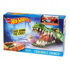 Jucarie Hot Wheels Pista crocodil periculos DWK96 Mattel - Masinuta