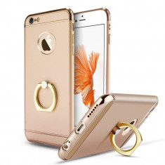 Husa telefon Iphone 6PLUS/6SPLUS ofera protectie 3in1 Ultrasubtire - Rose-Gold Apple