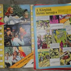 JOBARAT ANUL 1974 LOT 4 REVISTE CUTEZATORII IN LIMBA MAGHIARA - 3 LEI BUC - Reviste benzi desenate Altele