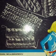 MARIA NICA DRAGOESCU - MODELE NOI DE ROCHII BLUZE SI JACHETE IMPLETITE