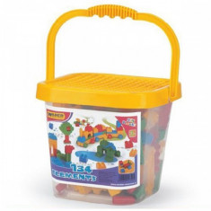 Cuburi in Galeata 134 Piese - Jocuri Forme si culori