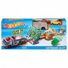 Jucarie Pista Hot Wheels Earthquake Alley DWY52 Mattel - Masinuta