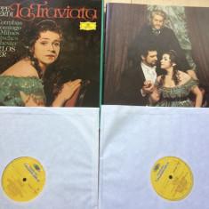 La Traviata De Giuseppe Verdi 2 lp dublu disc vinyl muzica clasica opera vest, VINIL
