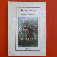 AGENTIA THOMPSON = Jules Verne Nr.33 = In tipla = Biblioteca Adevarul - Carte de aventura