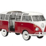 Kit de constructie Volkswagen Bus Samba, nivelul 5 replica exacta
