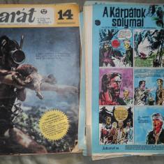 JOBARAT ANUL 1969 LOT 18 REVISTE CUTEZATORII IN LIMBA MAGHIARA - 3 LEI BUC - Reviste benzi desenate Altele