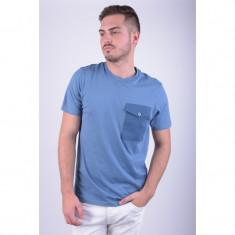 Tricou Bumbac Jack&Jones Core Quebeck Slim Fit Albastru