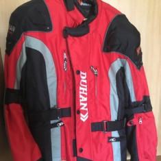Geaca textil Duhan marime L + Manusi piele Probiker marime M - Imbracaminte moto