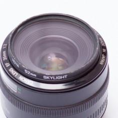 Obiectiv 35mm f/2.0 - Obiectiv DSLR Canon