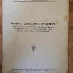 Desen si caligrafie topografica 1953