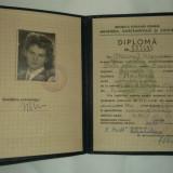 DIPLOMA 1961 - Diploma/Certificat
