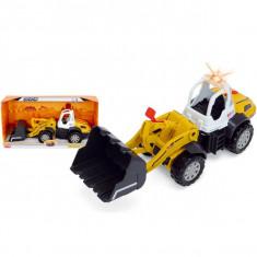 Tractor cu cupa Road Loader 3413429 Dickie
