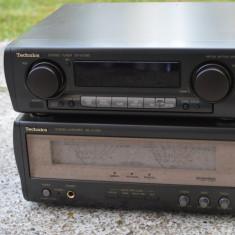 Amplificator Technics SE-VC 1180 si Preamplificator ST-VC 1180 cu Prospect - Amplificator audio Technics, 41-80W