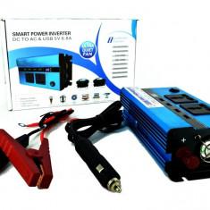 Invertor Premium 500W 12V-220V AL-170817-4 - Invertor curent