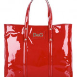 Dolce&Gabbana Red Estelle Shopper