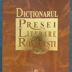 I. HANGIU - DICTIONARUL PRESEI LITERARE ROMANESTI 1790-1990