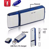 Reportofon SPION USB Stick Intregistare Audio / Memory Stick 8 GB