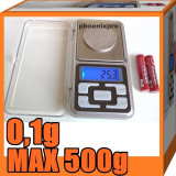 CANTAR ELECTRONIC 0,1g-MAX.500g