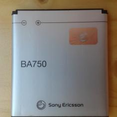 Vand Baterie Sony Ericsson BA750 Li-Polimer 1500mAh Pret 20 Lei, Li-polymer