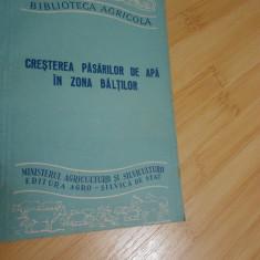 CRESTEREA PASARILOR DE APA IN ZONA BALTILOR