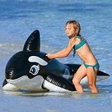 Jucarie gonflabila de apa balena, intex