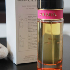 Parfum TESTER original Prada Candy 100 ml EDP pentru femei - Parfum femeie Prada, Apa de parfum