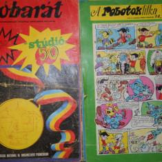 JOBARAT ANUL 1972 LOT 7 REVISTE CUTEZATORII IN LIMBA MAGHIARA - 3 LEI BUC - Reviste benzi desenate Altele