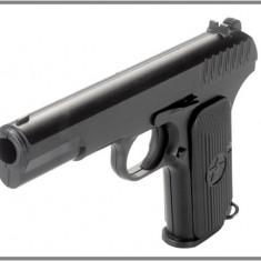 Pistol FULL METAL Airsoft KWC TT-33 Tokarev CO2- 2,2J -FACTURA SI GARANTIE