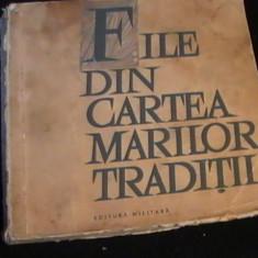 FILE DIN CARTEA MARILOR TRADITII-320 PG- - Carte traditii populare