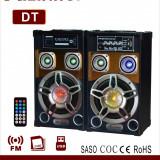 Boxe Active 60W karaoke Bluetooth, Radio FM si USB - MP3 player, FM radio
