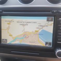 Navigatie Originala Volkswagen RNS 510, impecabila, cu Harta Romaniei - Navigatie auto