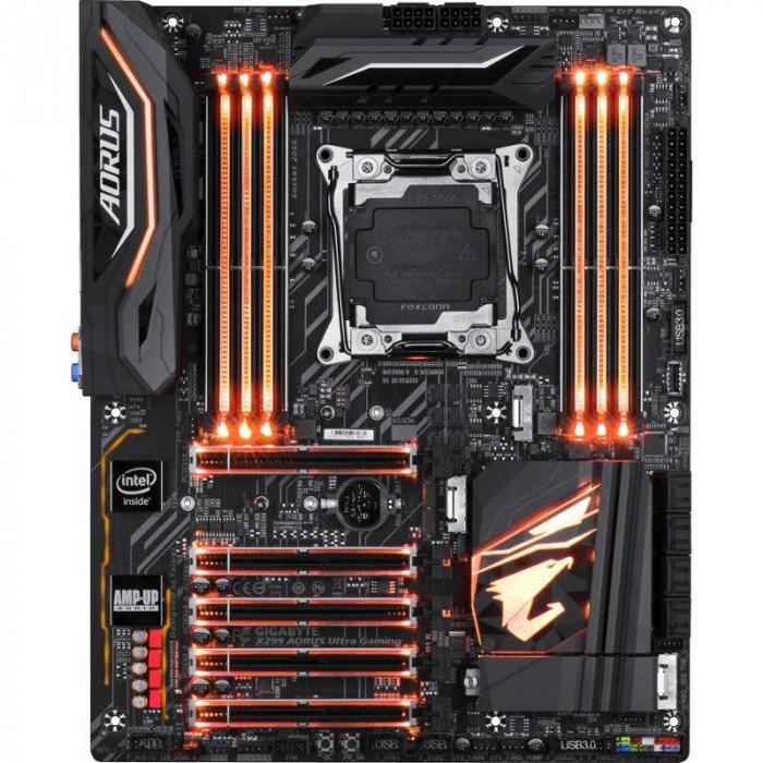 Placa de baza Gigabyte X299 AORUS Ultra Gaming Intel LGA2066 ATX foto mare