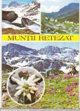Bnk cp Muntii Retezat - Vedere - uzata, Necirculata, Printata