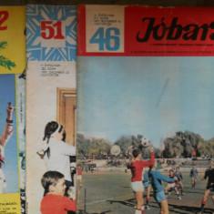 JOBARAT ANUL 1971 LOT 3 REVISTE CUTEZATORII IN LIMBA MAGHIARA - 3 LEI BUC - Reviste benzi desenate Altele