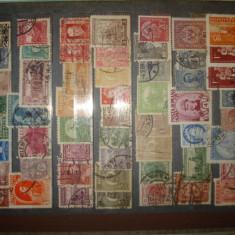 Clasor timbre stampilate mai vechi si mai noi, cca 380 bucati