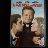 License to wed -dvd