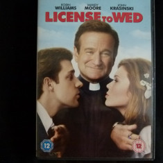 License to wed -dvd - Film comedie Altele, Engleza