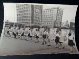 IASI, defilare pionieri RPR, fotografie rara