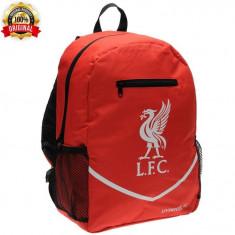 Ghiozdan Altele Team Liverpool - Anglia - H42 x W38 X D20 cm - Detalii in anunt, Unisex, Rosu