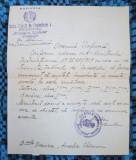 SCRISOARE de INCADRARE in INVATAMANT (1929, DOCUMENT VECHI PRINCIPESA ELISABETA)