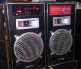 Boxe active cu bluetooth 120 wati 1 microfon inclus, Boxe exterior, 81-120W