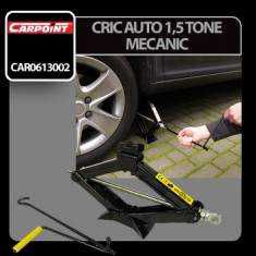 Cric auto 1, 5 tone mecanic Carpoint Profesional Brand