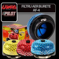 Filtru aer Sport din burete AF-4 - Rosu Profesional Brand