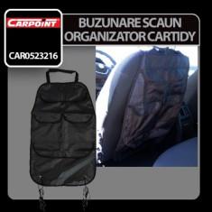 Buzunare scaun organizatoare Cartidy Carpoint Profesional Brand - Gazon natural