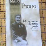 Proust A LA RECHERCHE DU TEMPS PERDU editie pe hartie velina, completa - Roman