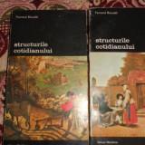 Structurile cotidianului 2 volume- Fernand Braudel